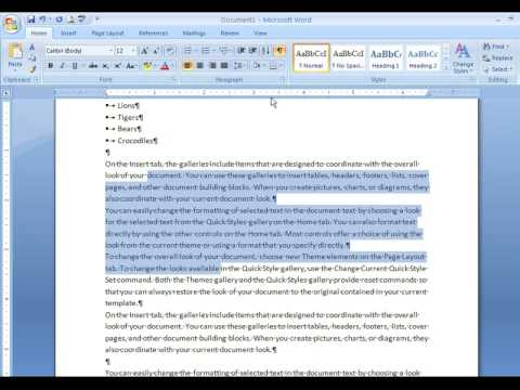 how to get no spacing in word