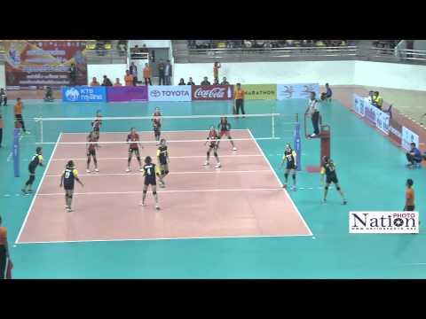 วอลเลย์บอล ทีมหญิง รอบชิงชนะเลิศ  กีฬาแห่งชาติ ครั้งที่ 43
