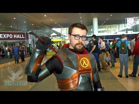 GORDON FREEMAN! Half-Life Cosplay at PAX East 2014