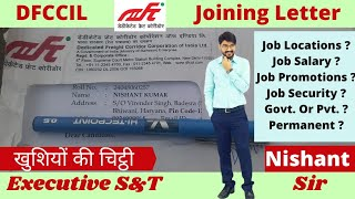 Unboxing DFCCIL Joining Letter | Jobs | Salary | Promotions | Facilities | Govt. or Private?