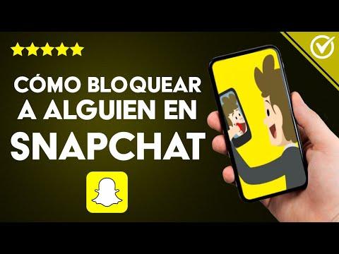 Cómo Bloquear o Desbloquear a Alguien en Snapchat sin que lo sepa