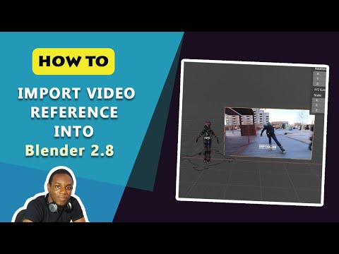 How To Import Video References For Animation In Blender 2.8