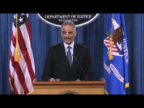 Attorney General Holder Delivers Update on Investigations in