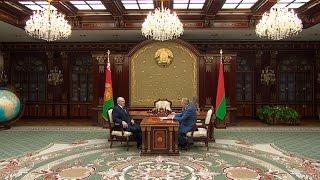 Лукашенко на встрече с руководителем Банка развития обсудил широкий перечень экономических вопросов