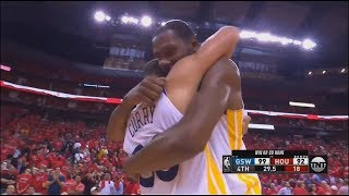 Final Minutes Game 7 Warriors vs Rockets 2018 Playoffs Western Conference Finals!