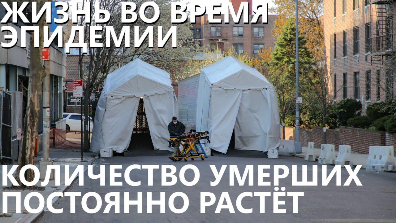 «Здесь ад! Нужны мешки для трупов!» - русский доктор из Нью-Йорка