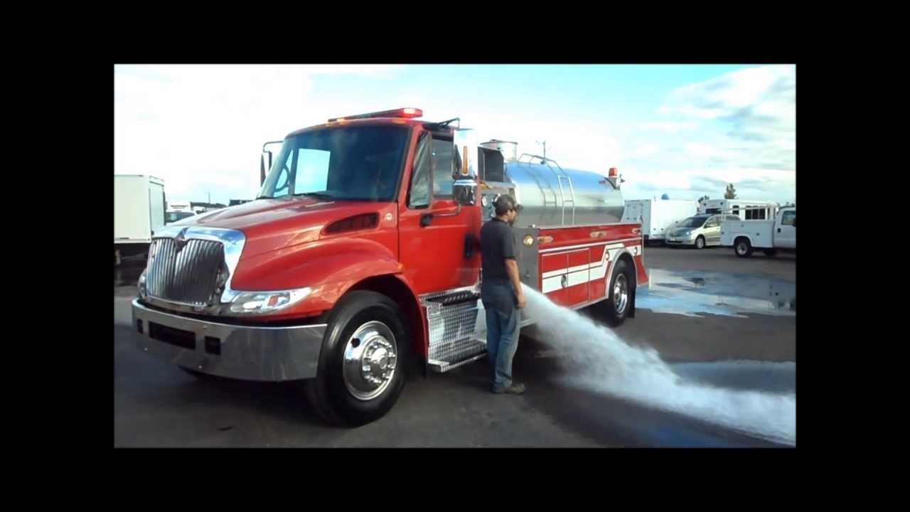 Used Fire Trucks For Sale >> International DuraStar with 2,000 Gallon Eliptical Tanker Fire Truck For Sale By CarCo Truck ...