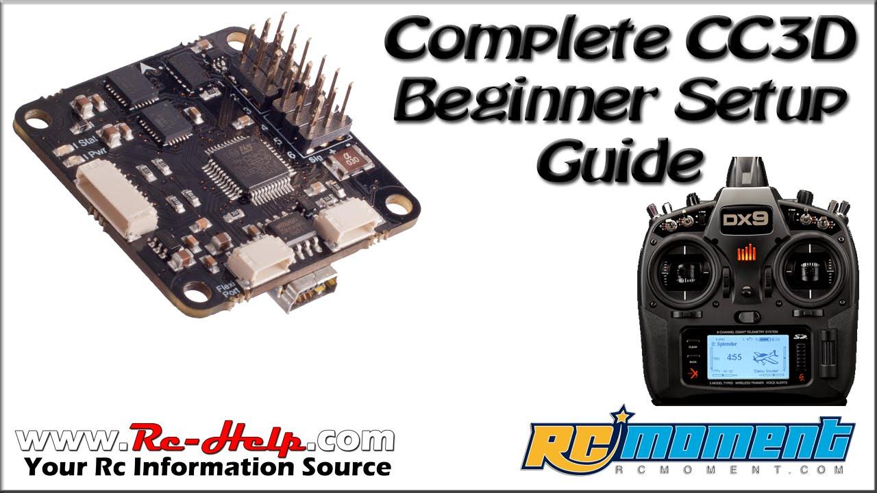 complete cc3d basic setup guide goolrc 210 maiden flight [ 1280 x 720 Pixel ]
