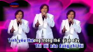 Karaoke Tinh Yeu Thuong - Andy Thanh (Beat & Vocal)