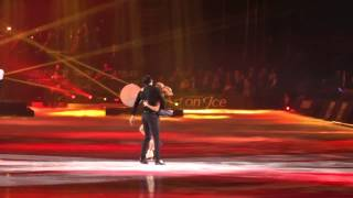 Art on Ice 2014 Tatiana Volosozhar & Maxim Trankov with Hurts - Somebody to Die For