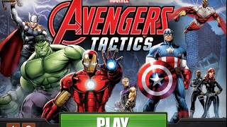 Colorful game - Avengers Assemble Tactics gameplay cartoon for kids