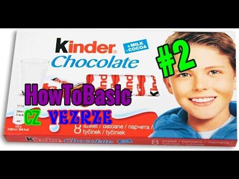 Download HowToBasic #2 (CZ Verze) - Jak udělat Kinder čokoládku!