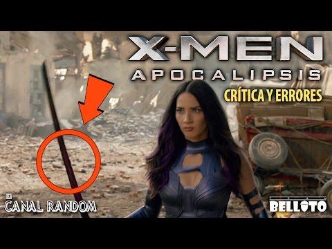 Errores de películas X Men Apocalypse (Apocalipsis) Review y Crítica WTF PQC
