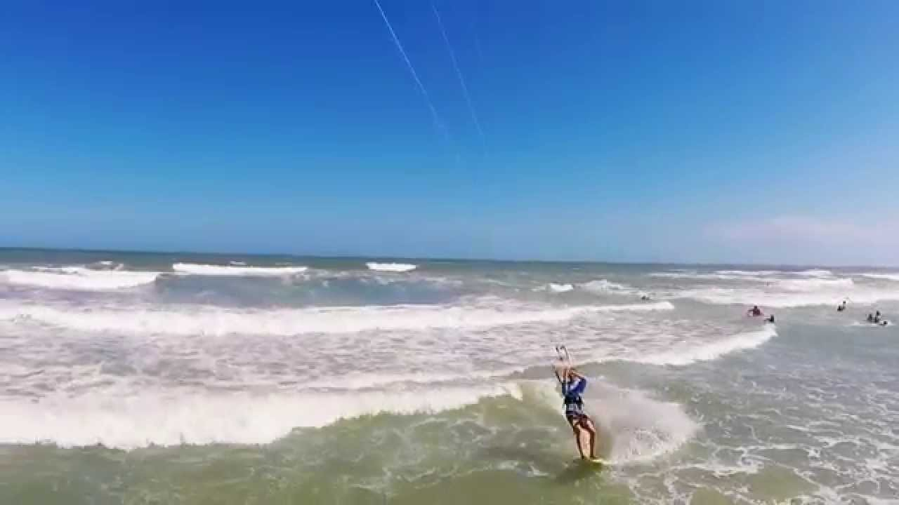 Gopro Kiteboarding By Drone Cocoa Beach Fl