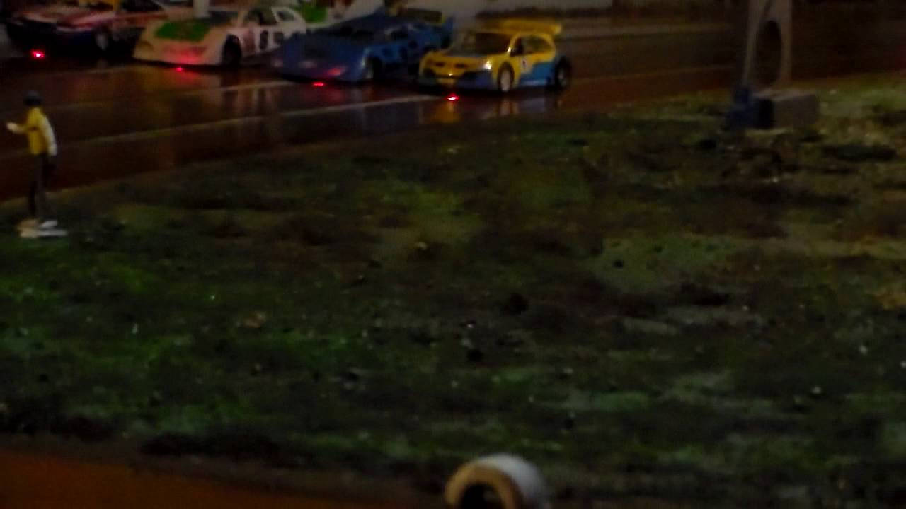Slot Car Oval Racing Cape Town Boland Raceway V8 Youtube