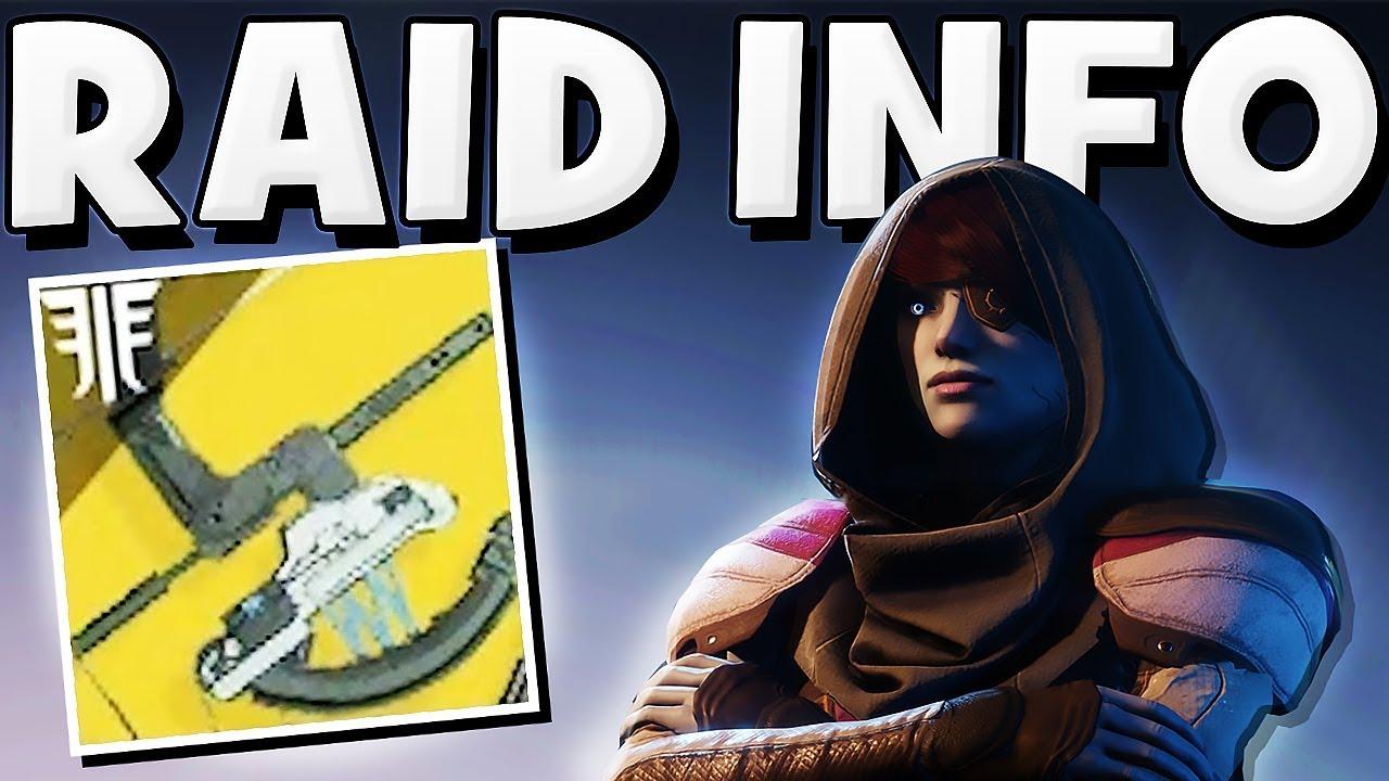 Destiny 2 - NEW RAID INFO & RAID BOSS Random Rolls & Gear !!!