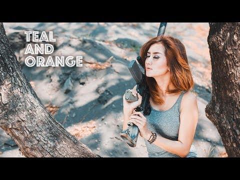 Photoshop Tutorial Orange Colour Effects thumbnail