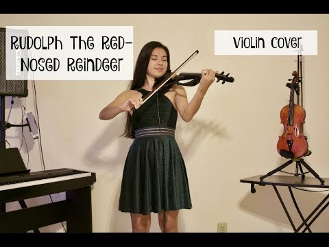 Rudolph The RedNosed Reindeer Violin   Kimberly Hope