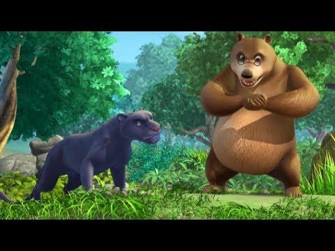 Маугли -Книга Джунглей -  Все серии сразу - сборник серий 11-15 –развивающий мультфильм для детей