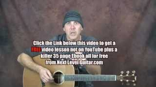 Play acoustic or electric guitar write songs build melody with licks within chords scales lesson pt2