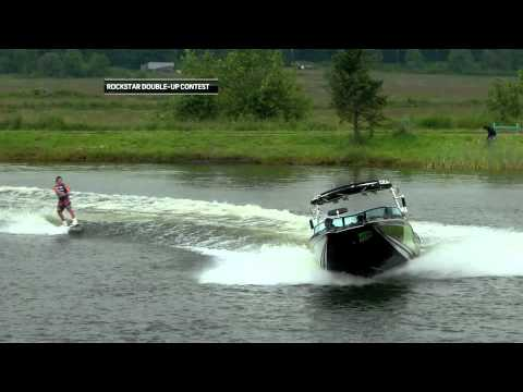 Kicker & Double-Up Contest at the Monroe Pro Wakeboard Tour- King of Wake