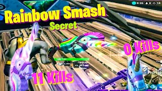 RAINBOW SMASH PICKAXE from 0 - 11 kills / SECRET Growing FORTNITE LLAMA Harvesting - before buying