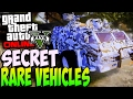 GTA 5 ONLINE SECRET & RARE CARS FREE Location 1.37: Secret Vehicles! PS3, PS4, XBOX ONE, XBOX 360