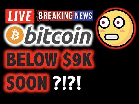 BITCOIN Gap Fill Target $8.5K?! VERY SOON?!❗️LIVE Crypto Analysis TA & BTC Cryptocurrency Price News