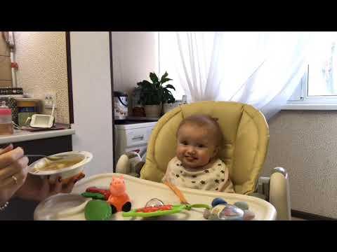 Питание ребёнка в 8 месяцев/ рацион на весь день