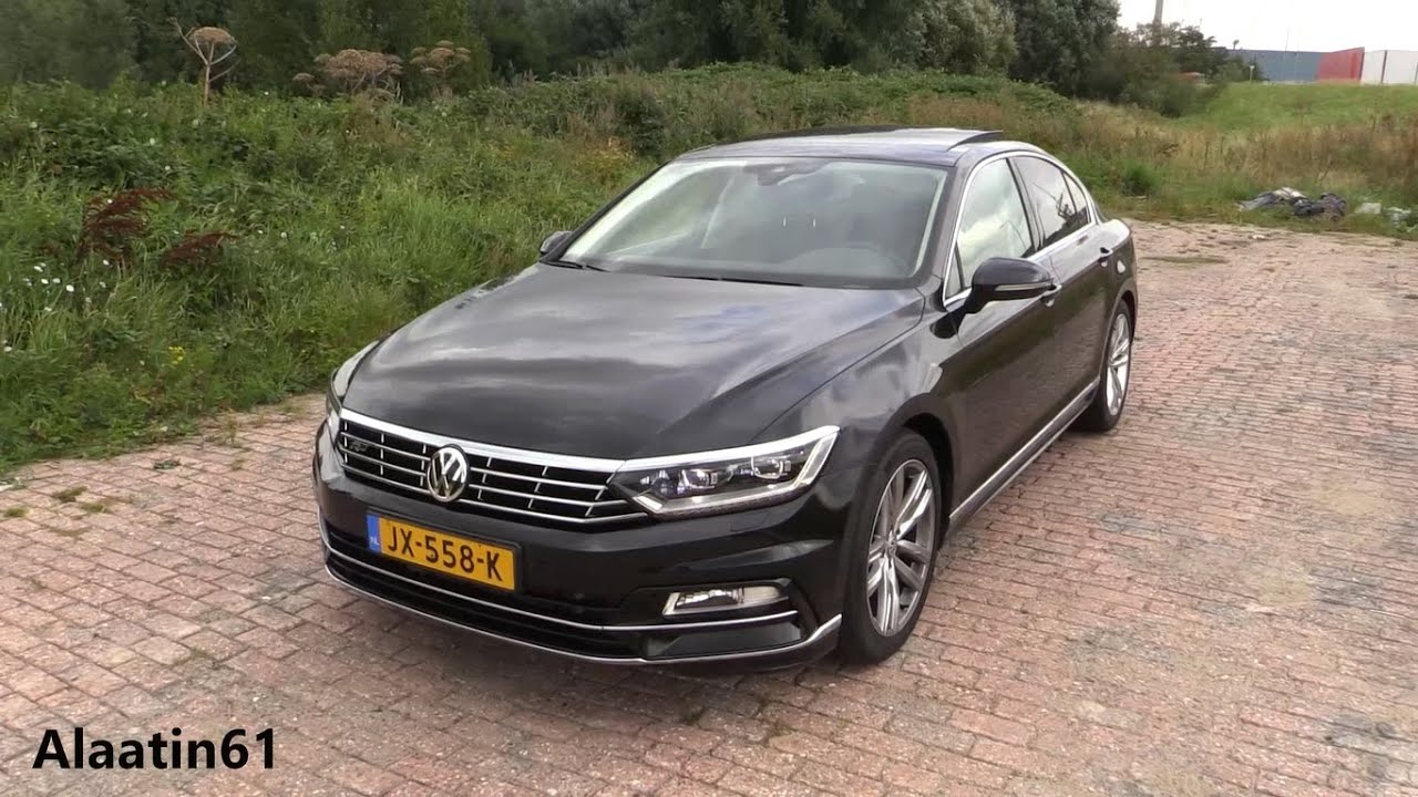 2017 volkswagen passat r line start up pov drive in depth review interior exterior youtube. Black Bedroom Furniture Sets. Home Design Ideas