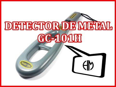 DETECTOR DE METAL GC 101H - HM