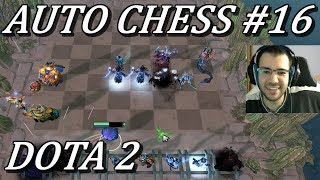 AUTO CHESS Druid, Mage, SF BUILD! Gameplay Dota 2
