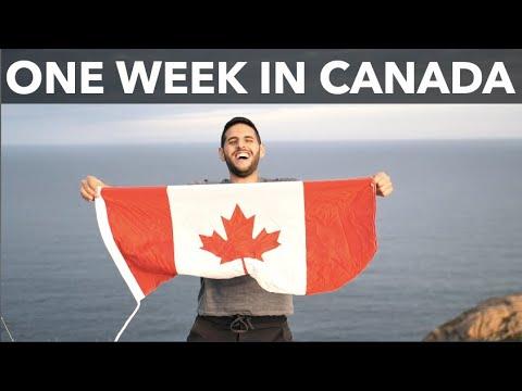 One Week in Canada