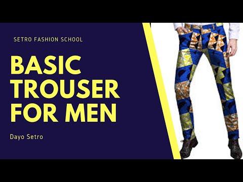 Basic Trouser Pattern For Men/Sokoto/Native Trouser/African Trouser/Traditional Trouser/Pant Part 1 thumbnail