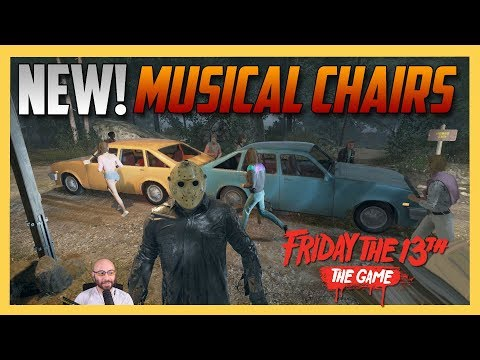 NEW: Musical Chairs Mode! - Friday the 13th The Game