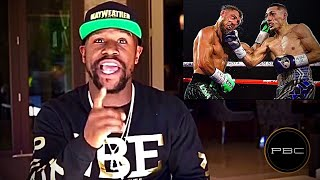 Floyd Mayweather REACTION to Vasyl Lomachenko LOSING to Teofimo Lopez| BET MONEY ON TEO vs HYPE JOB