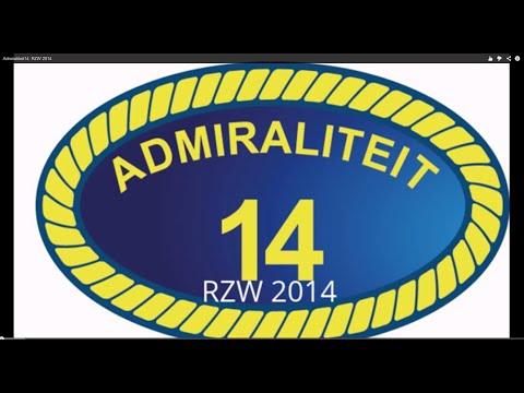 Admiraliteit14: RZW 2014