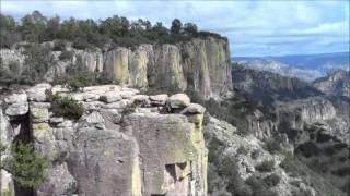 Mirador Piedra Volada, Divisadero, México 30/Dec/2013 #1 メキシコ、銅渓谷のピエドラ・ボラーダ展望台