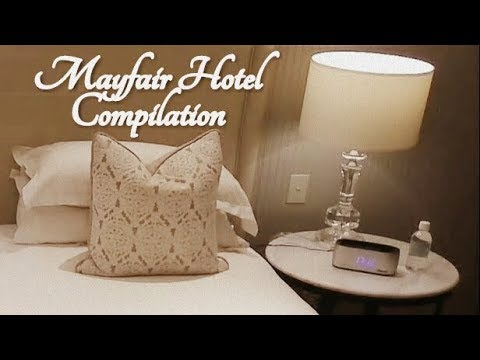 ASMR Mayfair Hotel Compilation (4 hours+, Long ASMR)
