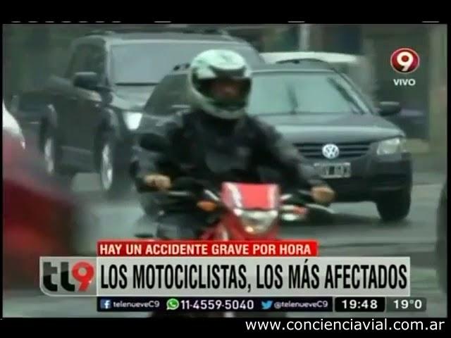 Sinistralidad de motociclistas