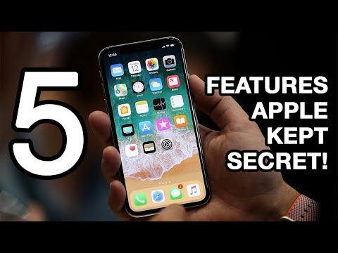 5 iPhone X Features Apple Kept Secret!