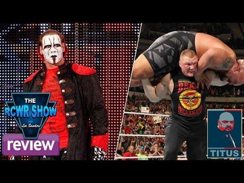 Sting Wwe Raw Debut