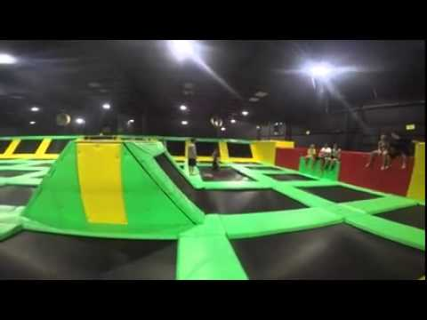 Max Air Trampoline Park Knoxville Tn Fun Youtube