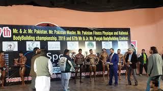 Mr. Pakistan 2019 Mr. Jr Pakistan Mr. Jr. Punjan and 70kg 75kg 80kg 90kg classes