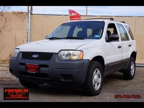 2004 ford escape v6 xls 4wd youtube. Black Bedroom Furniture Sets. Home Design Ideas