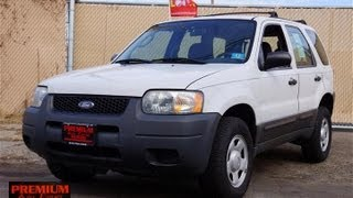 2004 Ford Escape V6 XLS 4WD
