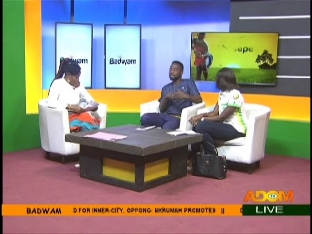 Glo Laughter Fest - Badwam on Adom TV (10-8-18)