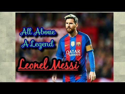 All Above a Legend ll Leonel Messi ll Black n White