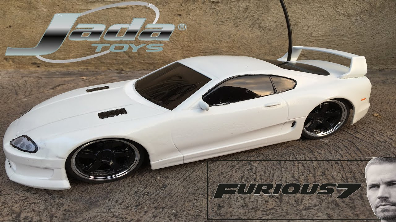 Fast And Furious Brians Toyota Supra Hyper Chargers RC Car - Hyper fast cars