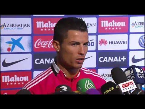 """Cristiano Ronaldo: """"El Real Madrid es mucho mejor que el Atlético de Madrid"""""""
